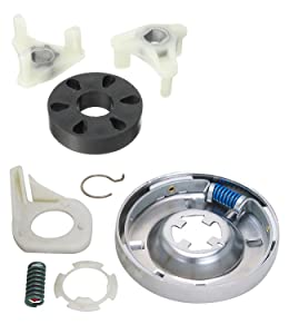 Siwdoy 285785 Washer Clutch Kit and 285753A Motor Coupling Kit for Whirlpool & Kenmore Washer 285331, 3351342, 3946794, 3951311, AP3094537