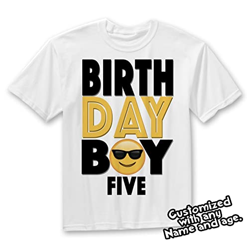 Emoji Birthday Shirt Party Outfit