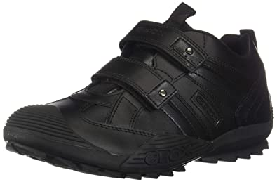 Geox J Savage G, Baskets Garçon  Amazon.fr  Chaussures et Sacs 8dc3c82a7932