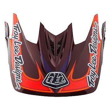 Troy Lee Designs adulto D3 visera Render BMX casco Accesorios – morado/talla única