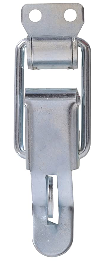 The Hillman Group 852096 Narrow Locking Draw Catch Zinc Plated