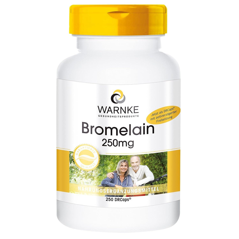 Bromelaína 250mg - efecto rde liberación lenta - 250 DRCaps ...