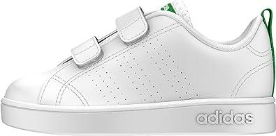 adidas Unisex Babies' Vs Adv Clean CMF Gymnastics Shoes