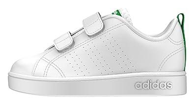 adidas Slipper White AW4889 VS Advantage 19 White