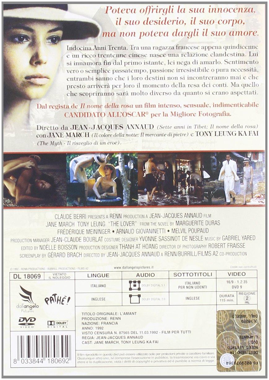 Amazon.com: LAmante [Italian Edition]: jane march, tony ...