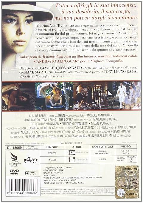 L amante  Amazon.it  Jane March 7337dc4c1057