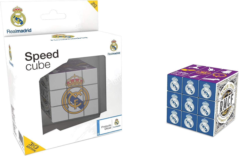 KICK OFF GAMES Cubo del Real Madrid CF (Versión 3X3) (Producto Oficial Licenciado): Amazon.es: Juguetes y juegos