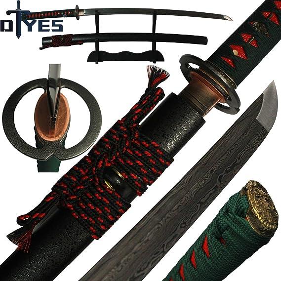 DTYES Full Handmade Japanese Samurai Katana Sword