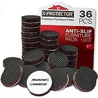 Meubelpads X-PROTECTOR - Antislippads - Premium 36 stuks 25 mm - Vloerbeschermers - Rubberen voetjes voor meubelpoten…