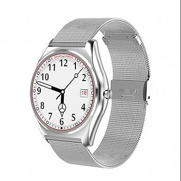 Reloj inteligente con Bluetooth,deportivo contador de pasos,Reloj Inteligente Diseño elegante,Recordatorio