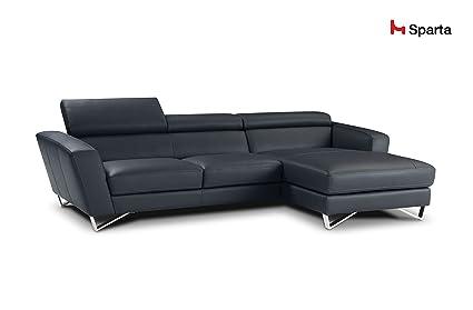 Attrayant Sparta Fabric Sectional Sofa By Nicoletti (Coffee)