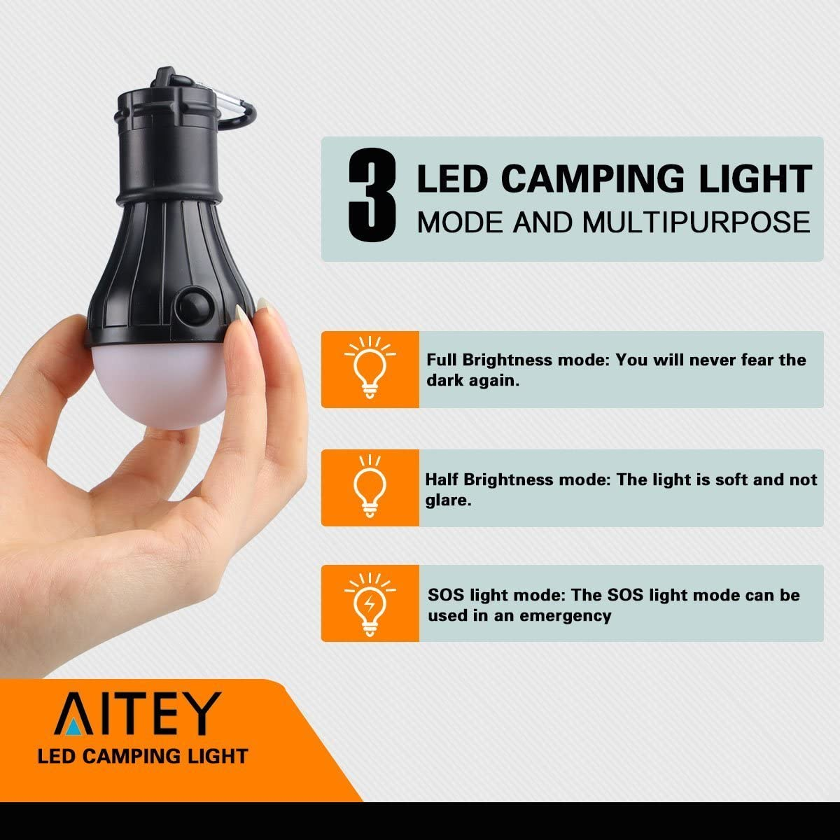 4 PCS LED Tent Lamp Hurricane Emergency Tent Light Backpacking Hiking Fishing /& Outdoor Lighting Bug Out Bag Camping Equipment Portable Tent Lantern Compact /& Water Resistant Gift Color Mixing