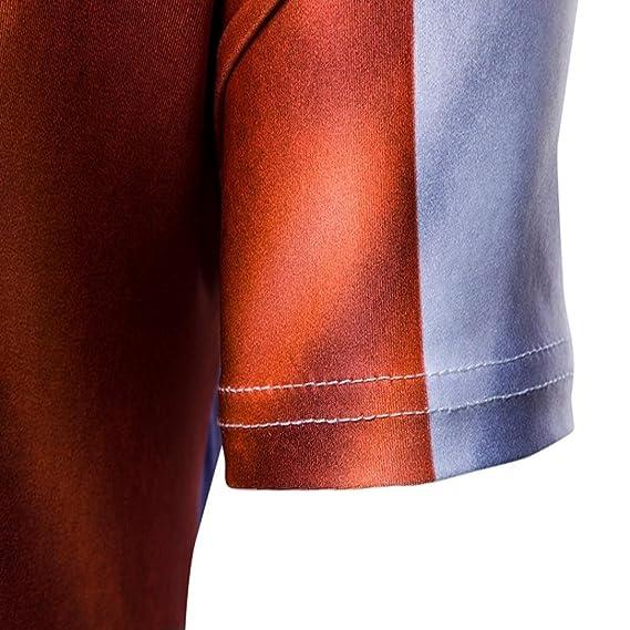 Camisetas, ❤ ⚽️Ba Zha Hei Camisetas Con 3D Estampado Hombre Futbol de Remera Talla Grande de Camisetas Suelto de Cuello Redondo Manga Corto Copa Del ...
