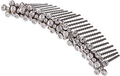Pearl /& Pave Diamante Chain Bracelet Ladies Bridesmaid Wedding Flower girls 44B