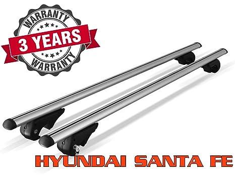 Perchero de techo para HYUNDAI Santa Fe (CM) (con rieles ...