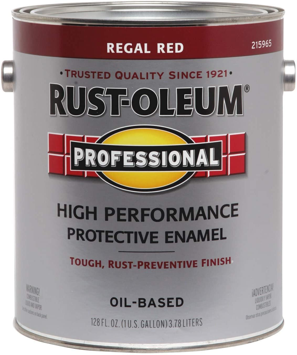 RUST-OLEUM 215965 Enamel Paint, Regal Red