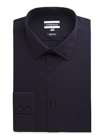 Direct Limehaus traje de lisos de color negro de uniforme de ...
