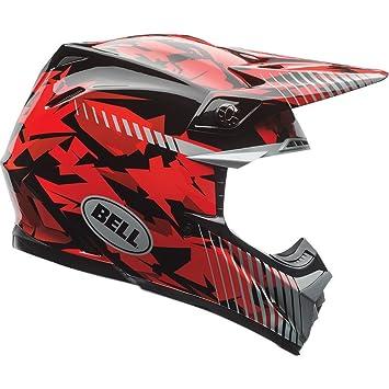 7073725 - Bell Moto-9 Motocross Helmet L Red Camo