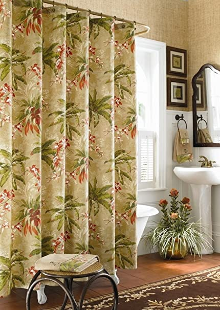 Image Unavailable Not Available For Color Tommy Bahama Viscaya Shower Curtain