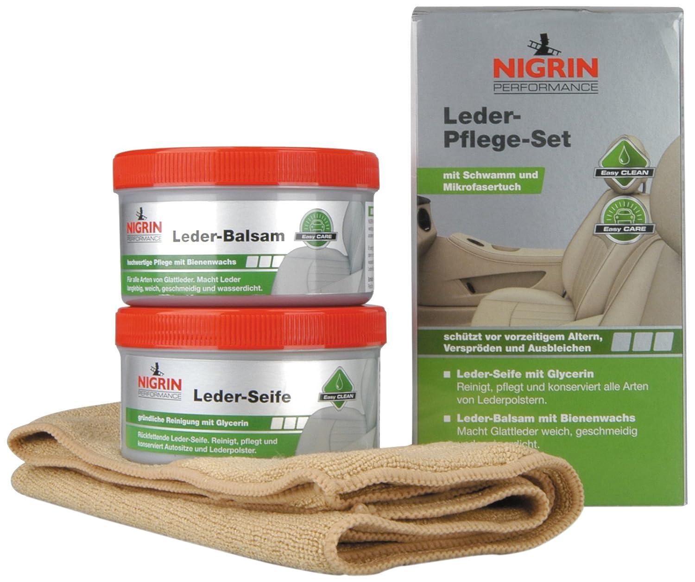Nigrin 高级皮具清洁护理膏套装73170