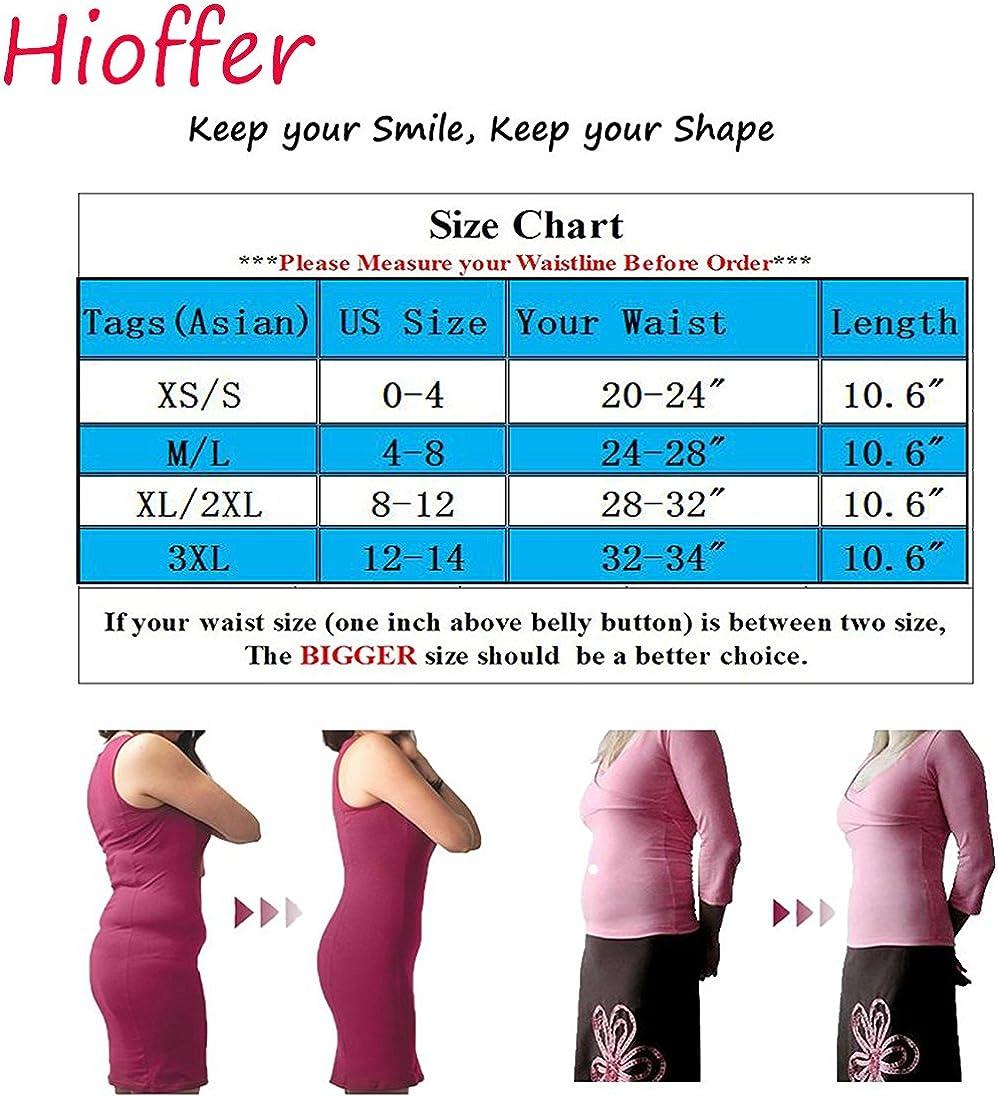 Hioffer Waist Trainer Corset Weight Loss Workout Body Shaper Sport Seamless Tummy Control Fat Burner