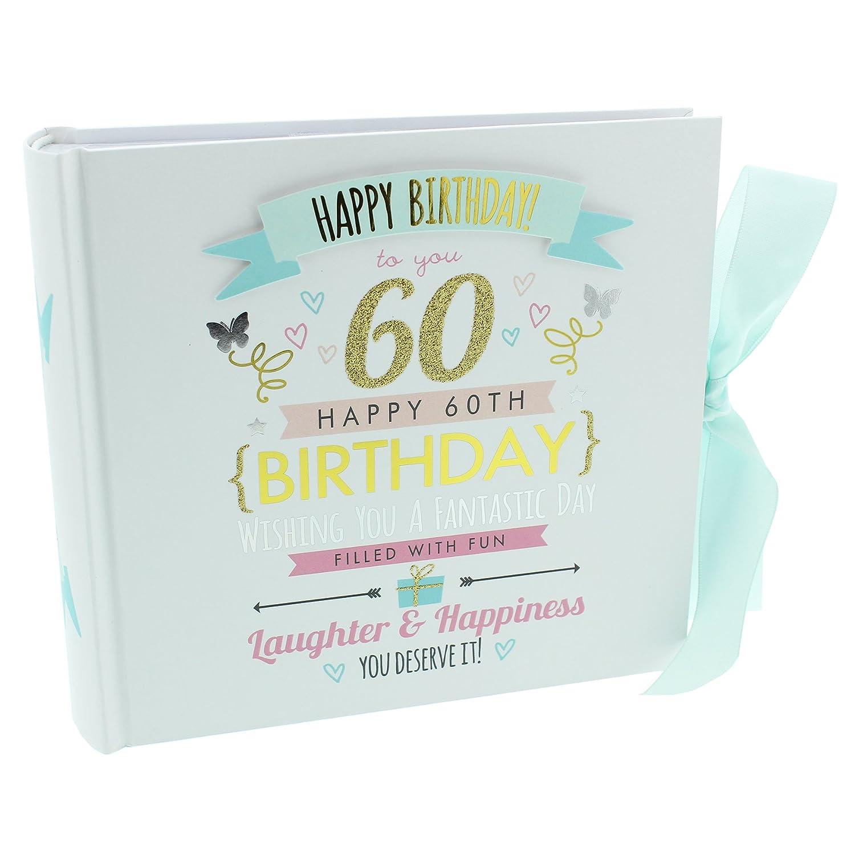 全国宅配無料 ukgiftstoreonlineハッピー60歳の誕生日フォトアルバム B00V0IKDDK - 80 - 80 6
