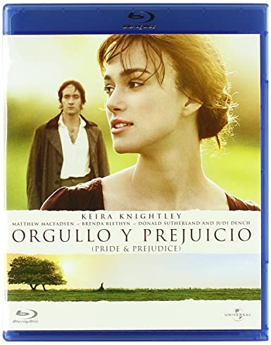Orgullo Y Prejuicio Blu Ray Amazon Es Varios Joe Wright Cine Y Series Tv