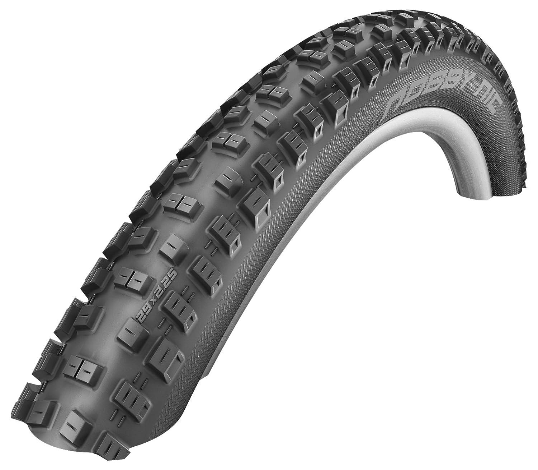 Schwalbe Nobby Nic HS 463 AddixパフォーマンスTL Readyマウンテン自転車タイヤ – Folding Bead B073GX3JLB 26 x 2.10|ブラック ブラック 26 x 2.10