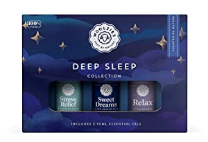 Woolzies 100% Pure Good Night Deep Sleep Well Essential oil Blend set | Helps Sleep better Faster & Restful| Sweet Dreams Oils for Insomnia |Natural Sleep Aid |Helps Stress,Undiluted Therapeutic Grade