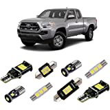 iBrightstar Super Bright Canbus LED Bulbs Package Kit fit for Toyota Tacoma 2005-2019 Interior Map Dome Lights + Vanity…