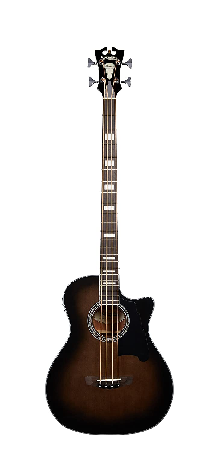 D'Angelico DAPB700GRBCPS 4 String Acoustic-Electric Bass Guitar Cascio Interstate Music
