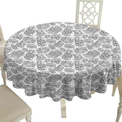 Kitchen & Table Linens Antique White Damask Linen Tablecloth Latest Technology