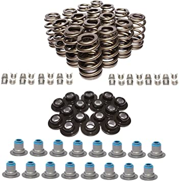 Ohoho 16 Pack Valve Springs Kit for all LS Engines .625 Lift Rated 1997-2004