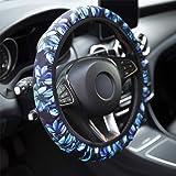 Anti-Slip Car Accessories for Men Women Universal Steering Wheel Covers/ï/¼/Œlake Elastic Car Wheel Cover