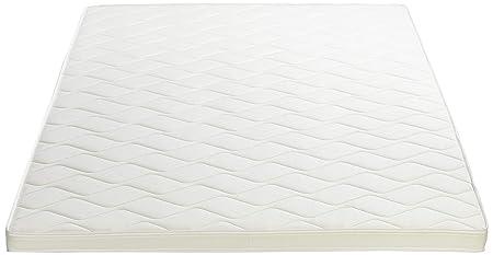 AmazonBasics - Sobrecolchón, espuma de alta resistencia, semi firme H3 - 180 x 200 cm: Amazon.es: Hogar
