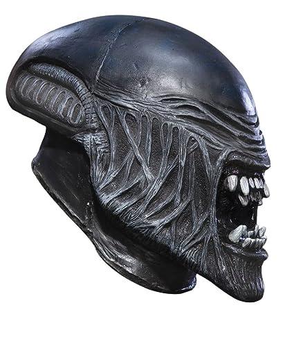 Amazon.com: Niño Alien vinilo máscara disfraz de Halloween ...