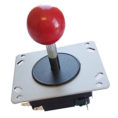 Atomic Market Classic Arcade Joystick Red Ball Design for 8 and 4 Way Game Play: Toys & Games