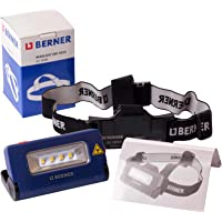Berner Hoofdlamp Headlight LED 2 in 1 zaklamp werkplaats