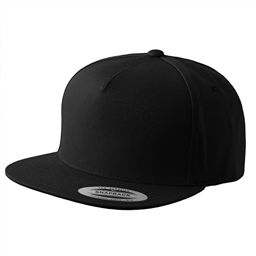 ecaaef956a1 Image Unavailable. Image not available for. Color  Flexfit Yupoong Classic  5 Panel Snapback   2-Tone