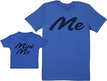Baby Bunny Me & Mini Me - Regalo para Padres y bebés en un Camiseta para bebés y una Camiseta de Hombre a Juego