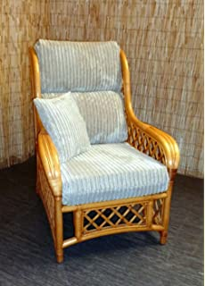 New Replacement Cushion Covers For Cane Wicker And Rattan Conservatory And Garden  Furniture   Beige Jumbo Part 86
