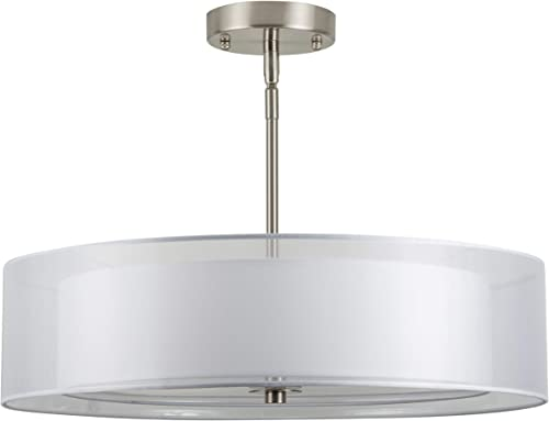 Grazia 20 inch 3 Light Drum Chandelier Ceiling Light