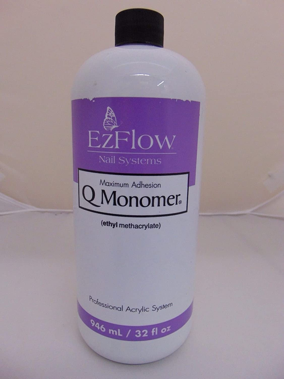 EZ FLOW Q Monomer False Nails, 32 Fluid Ounce 66071