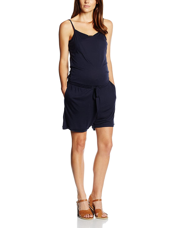 Esprit Maternity Women's Dungarees Blue-Blau (Navy 400) W34 056CC1L014