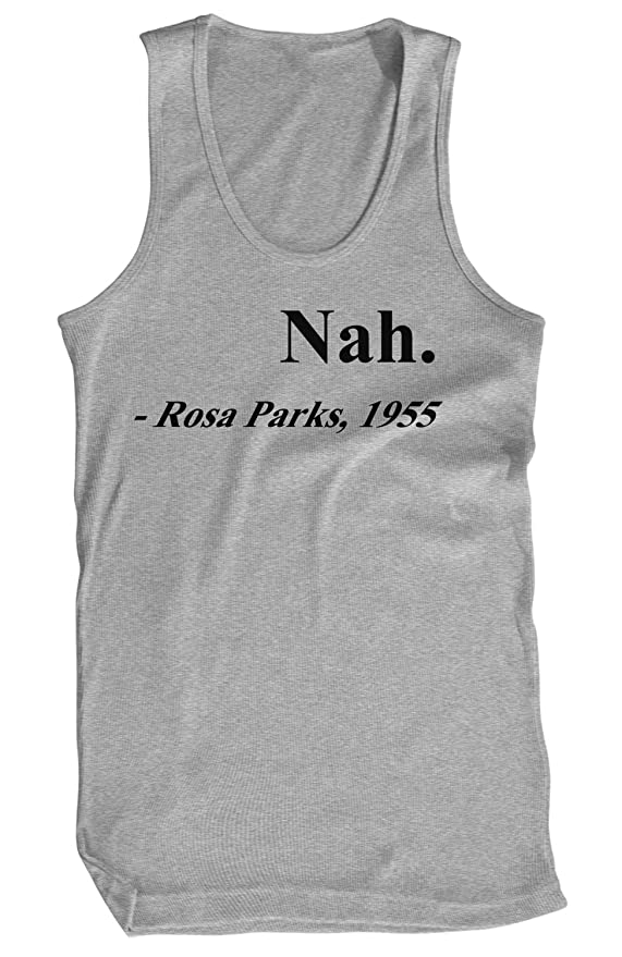 6e357beb1 Amazon.com: Amdesco Men's Nah. Rosa Parks, 1955 Black History Month Tank  Top: Clothing