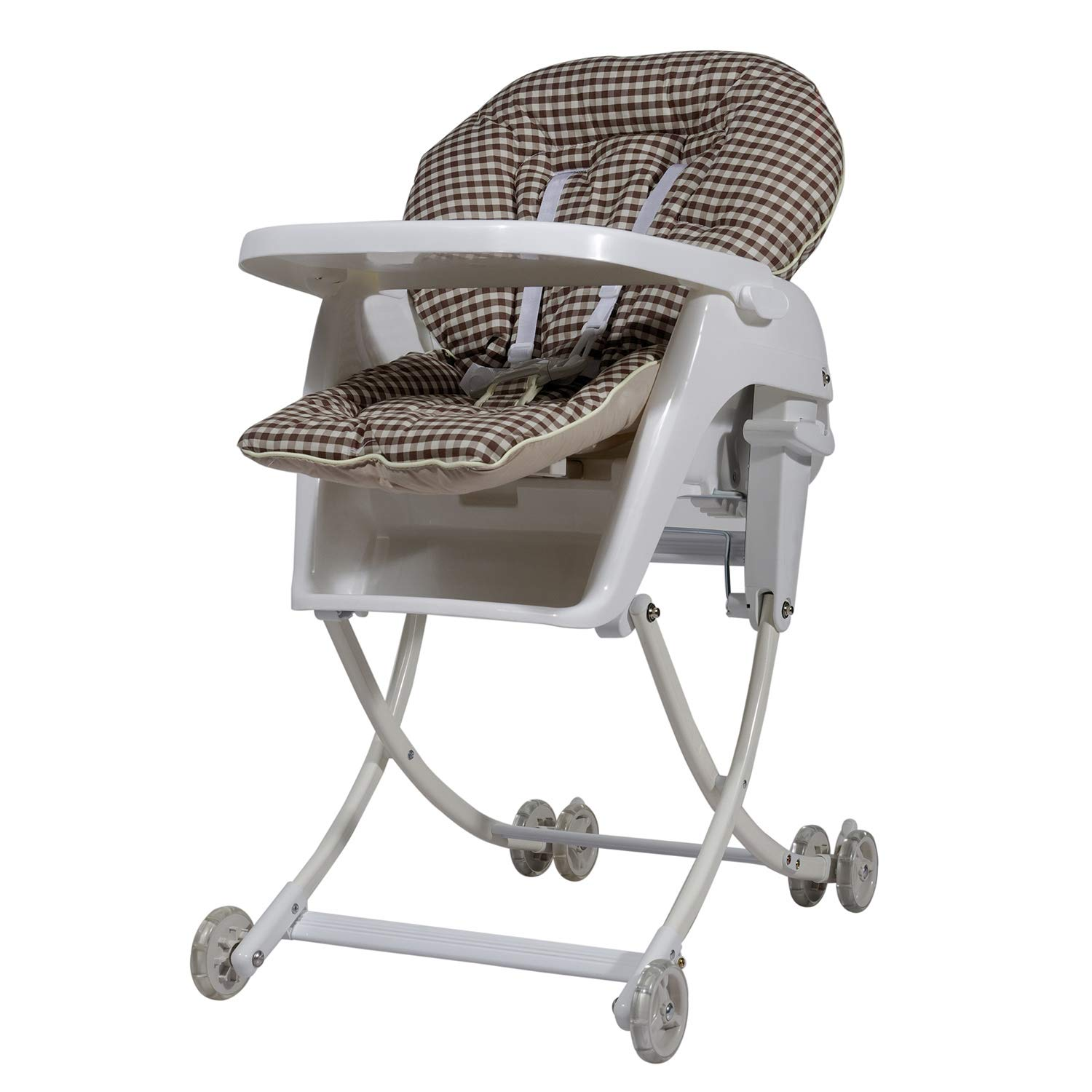 Babycenterindia Royal 4 in 1 High Chair, 6-9 Months (Beige)