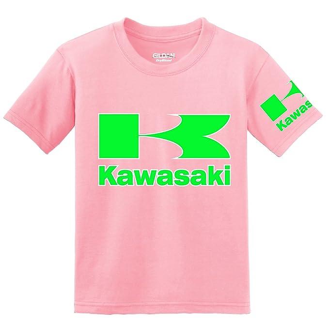 Kawasaki - Camiseta - para hombre rosa rosa Medium: Amazon.es: Ropa y accesorios