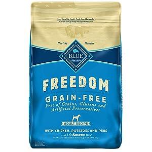 Blue Buffalo Freedom Grain Free Natural Adult Dry Dog Food