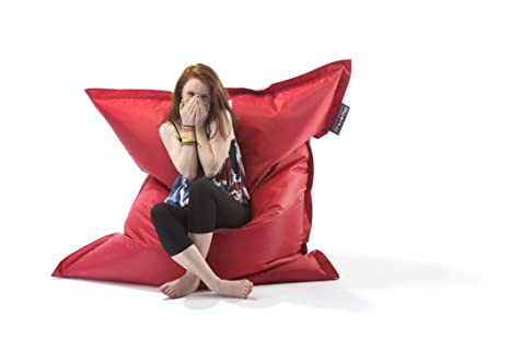 Outstanding Big Hug Original Bean Bag 140Cm X 180Cm Red Amazon Co Uk Ocoug Best Dining Table And Chair Ideas Images Ocougorg