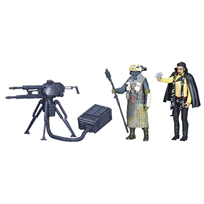 Star Wars Force Link 2.0 Lando Calrissian & Kessel Guard 2-Pack: Toys & Games